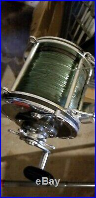 Vintage Penn Senator 12/0 Big Game Shark Fishing Reels, Matched Set
