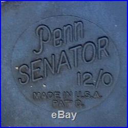 Vintage Penn Senator 12/0 Fishing Reel