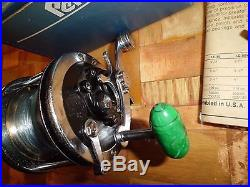 Vintage Penn Senator 2/0 Conventional Reel made in USA with Box & More