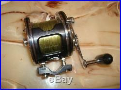 Vintage Penn Senator 2/0 Conventional Reel made in USA with Tiburon Kit