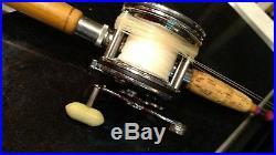 Vintage Penn Senator 2/0 game fish reel DARN CLEAN -redone