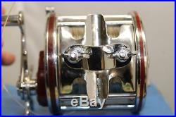 Vintage Penn Senator 4/0 113H Salt Water Fishing Reel USA With Box & Wrench