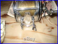 Vintage Penn Senator 4/0 Conventional Reel made in USA with Box & Papers