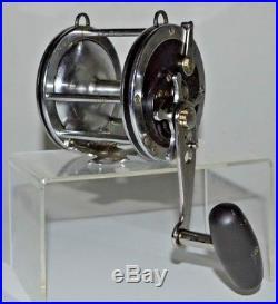 Vintage Penn Senator 4/0 Salt Water Ocean Fishing Reel 115 Jaws Previously Owned