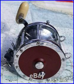 Vintage Penn Senator 6/0 114H High Speed Conventional Fishing Reel-Just Serviced