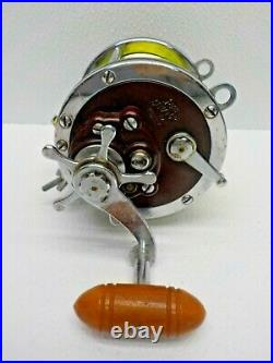 Vintage Penn Senator 6/0 114-H Fishing Reel Saltwater Conventional Made In USA