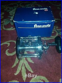 Vintage Penn Senator 6/0 Model 40-114 Big Game Fishing Reel New Old Stock