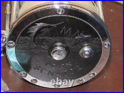 Vintage Penn Senator 9/0 115 Game Ocean Fishing Reel With Box