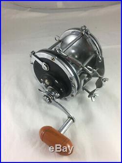 Vintage Penn Senator 9/0 BIG GAME Fishing Reel Black Side-plates