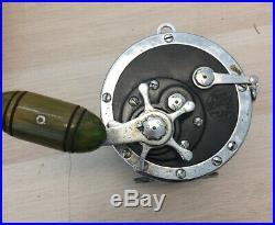 Vintage Penn Senator 9/0 Conventional Saltwater Reel Made In U. S. A. Nice GT-1