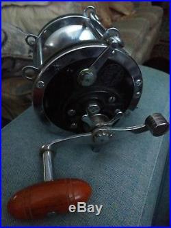 Vintage Penn Senator 9/0 Salt Water Fishing Reel. BIG GAME. Complete
