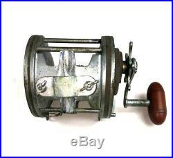 Vintage Penn Senator 9/0 Star Drag Deep Sea Reel With Rod Clamp Made in U. S. A