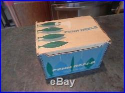 Vintage Penn Senator Game Fish Reel 4/0 Model # 113h All Paperwork & Box