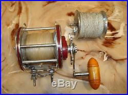 Vintage Penn Special Senator 4/0 Conventional Reel made in USA with Spare Spool