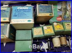 Vintage Penn Spinfisher 710 Fishing Reel Boxes 1960s Senator NOS Spools Tools
