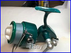 Vintage Penn Spinfisher 710 Greenie Fishing Reel Minty In The Box with Extra's
