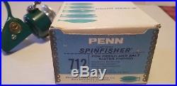 Vintage Penn Spinfisher 712 Fishing Reel Unused Box