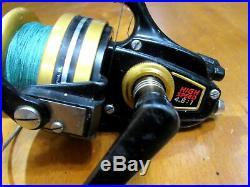 Vintage Penn Spinfisher 850SS Graphite Big Game Spinning Reel