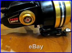 Vintage Penn Spinfisher 9500SS Graphite Big Game Spinning Reel