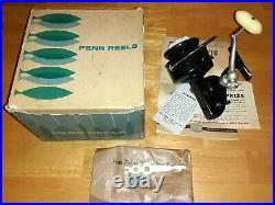 Vintage Penn Spinfsher 710 Black Spinning Fishing Reel Rare Saltwater Don