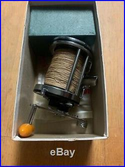 Vintage Penn Squidder 140 Fishing Reel With Extra Spool Original Box