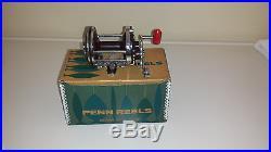 Vintage Penn Squidder 145 Fishing Reel With Original Box