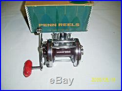 Vintage Penn Squidder Fishing Reel No. 145 with Extra Spool, EXCELLENT ORG BOX