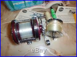 Vintage Penn Squidder Jr. 146M Conventional Reel with Original Box & More