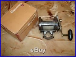 Vintage Penn Super Jigmaster 505 HS Conventional Reel made in USA with Newell Kit