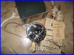 Vintage Penn Super-Mariner 49M Conventional Reel made in USA with Box & Papers