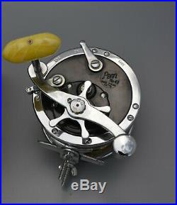 Vintage Penn Super-Mariner Fishing Reel 49M w. Box Saltwater Deep Sea Fishing