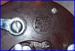 Vintage Penn Super Peer 309M Salt Water Level-Wind Fishing Reel with Box