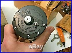 Vintage Penn Surfmaster 200 Fishing Reel with Original Box, Catalog, Tools