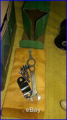Vintage Penn Surfmaster 200 NOS Fishing Reel In Box, Lime handle crank