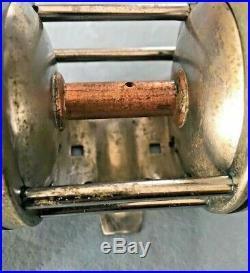 Vintage Pre-war Penn Silver Beach 97 Reel, No Part Numbers. Pat'd