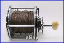 Vintage RARE PENN SENATOR 12/0 Big Game Saltwater Fishing Reel Black Handle