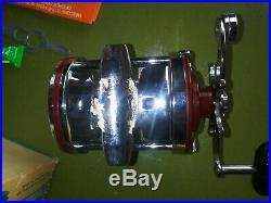 Vintage Rare Penn Fishing Reel MIB Squidder 140L 3 1/2 -1 Ratio 200Yds 30 Pound