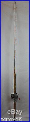 Vintage Salt Water Deep Sea Fishing Rod & Reel Penn Long Beach 68, Gliebe 80