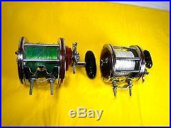 Vintage Saltwater Penn Fishing Reels x2