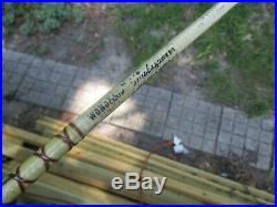 Vintage Shakespeare Wonderod Saltwater Casting Fishing Pole & Penn Reel 209 73