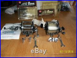 Vintage USA PENN No. 209M Level Wind never used saltwater fishing reels VGC