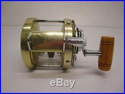 Vtg NOS c1960s Penn International Deluxe 50 Game Fishing Reel Bakelite SN LD3018