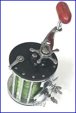 Vtg PENN Long Beach No. 67 Conventional Saltwater Fishing Reel U. S. A Rare Design
