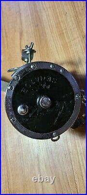 Vtg PENN SENATOR 9/0 BIG GAME Conventional Saltwater Fishing Reel USA power