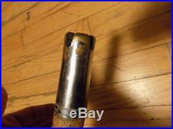 Vtg PENN Senator 9/0 Big Game Reel & Cork Wooden Fishing Rod Made in Phila USA